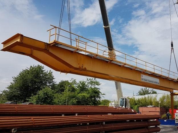 16 ton portaal kraan