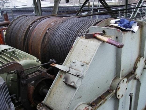 Ardelt-grijperbrugkraan