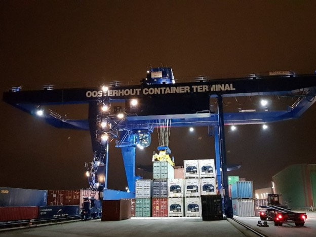 New Container Crane For OCT