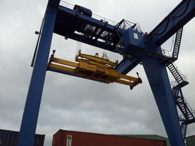 Inspectie KSR- en Nelcon-containerkranen