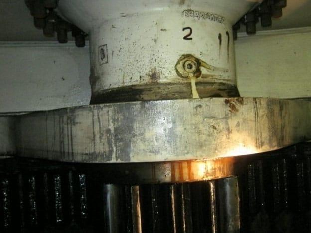 Inspectie drijvende Figee-grijperkraan