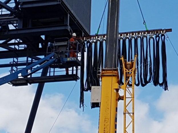 Nieuw hangkabel pakket voor KSR containerkraan