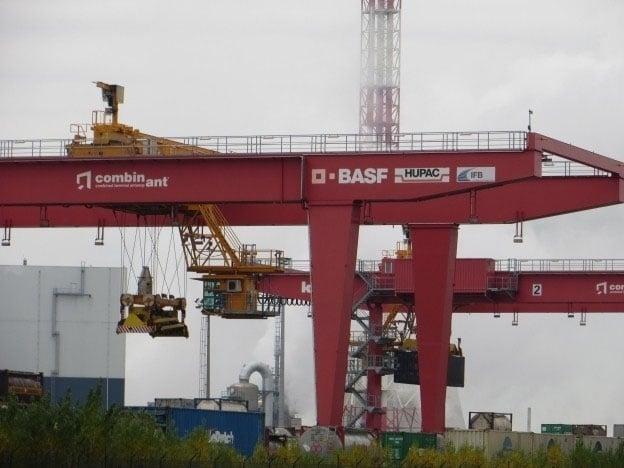 Onderhoud binnenlandse containerkranen Kunz
