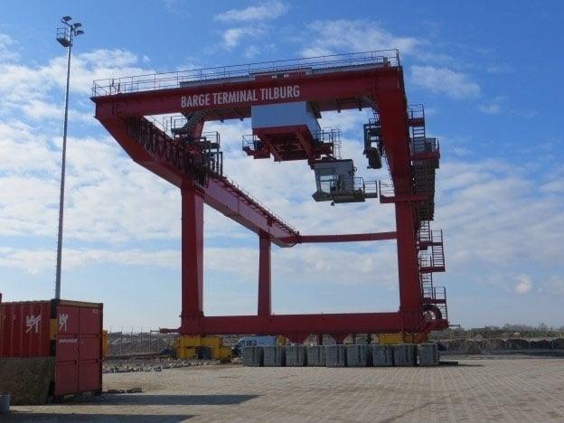 Onderhoud containerkraan Konecranes