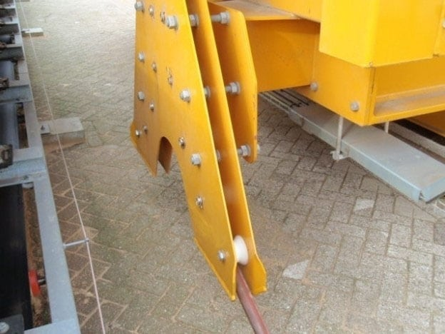 Onderhoud en inspectie voedingskabeltrommel Vigan-machine