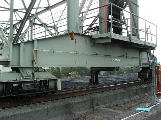 Restlevensduur Ardelt-grijperbrugkraan