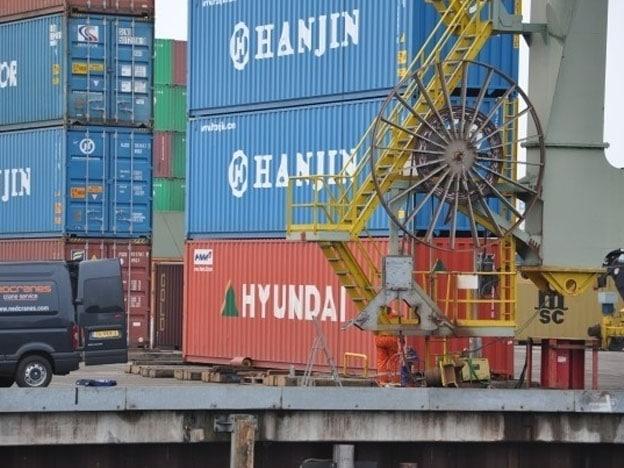 Revisie Delachaux-kabeltrommel Figee-containerkraan