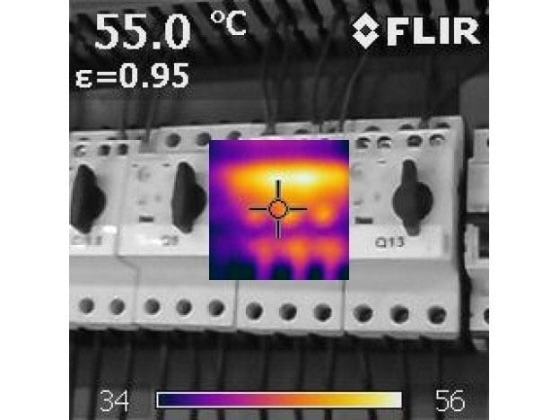 Thermografie-onderzoek hijskranen