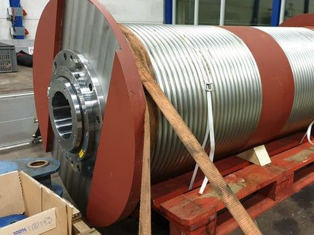 hijstrommel met barrel koppeling