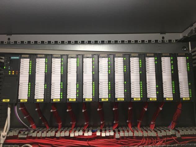 PLC input / output card
