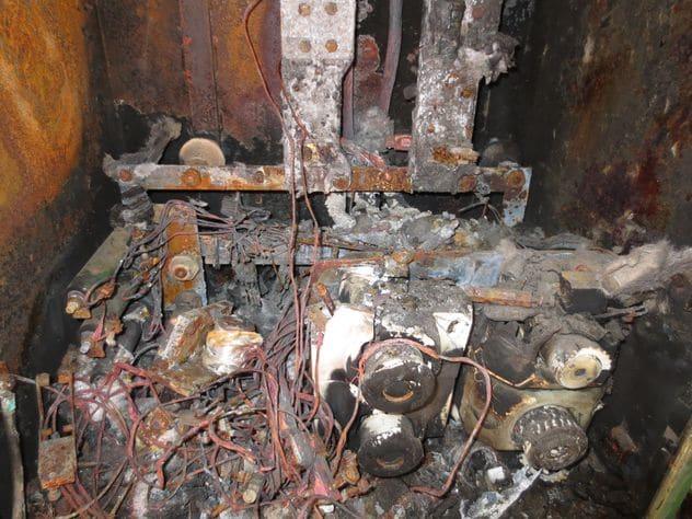 Elektriciteitskast incident
