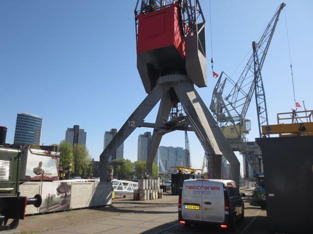 havenkraan museum Rotterdam
